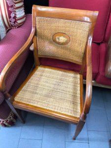 Restauro sedia impagliata