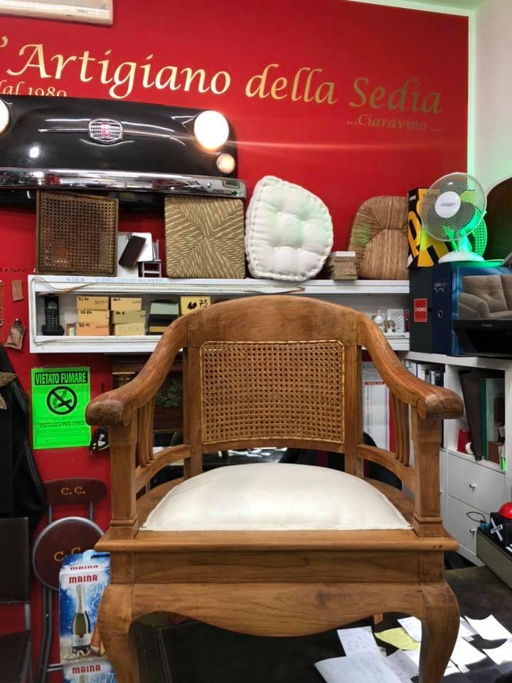 Impagliatura e riparazione sedie ( Paglia di Vienna )